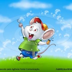 mascote rato crianca menino jlima desenho cartum cartoon