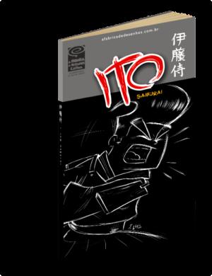 Capa ITO Samurai manga j. lima quadrinhos