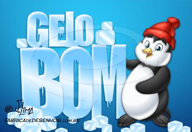 logo logomarca logotipo gelo pinguim ice jlima