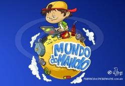 Logo para blog Mundo do Manolo