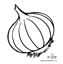 desenho colorir cebola