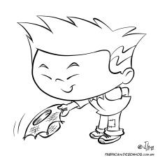zu caipira para colorir junina feta quermesse cartum cartoon desenho jlima japones menino rural