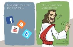 Simplesmente Jesus 04 siga-me charge cartoon jlima