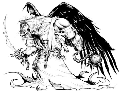 anjo caido levitas guerreiros deus jlima