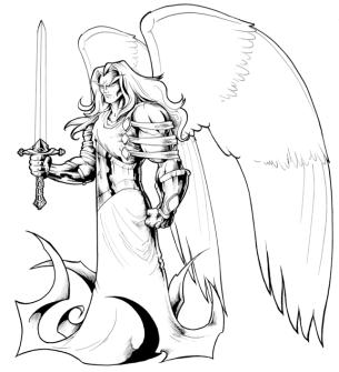 arcanjo anjo miguel espada levitas guerreiros deus jlima