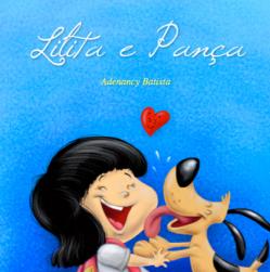 capa livro ilustrado desenhos cartum infantil menina caozinho autor independente