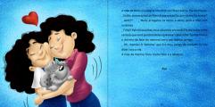 menina mae abraco amor livro ilustrado desenhos cartum infantil autor independente