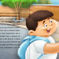 menino menina livro ilustrado desenhos cartum infantil autor independente
