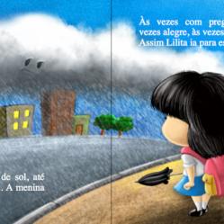 pagina mnina livro ilustrado desenhos cartum infantil autor independente