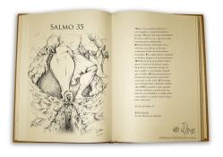 salmo 35 ilustrado desenho jlima ferreira almeida