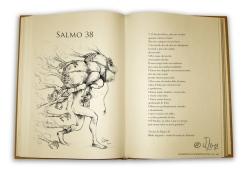 Salmos ilustrados, veja uma página.