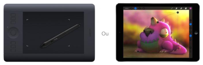 mesa digitalizadora wacom ipad apple