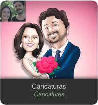 Banner SERVIÇOS Home caricaturas caricatures
