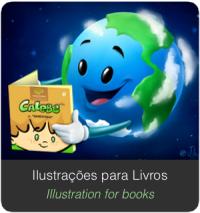 Banner SERVIÇOS Home illustration book livros ilustrações
