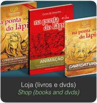 Banner SERVIÇOS Home loja livros dvds shop books dvds