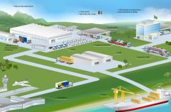 desenho logistica galpao fabrica logistic 2