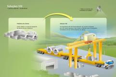 desenho logistica galpao fabrica logistic transporte pesado