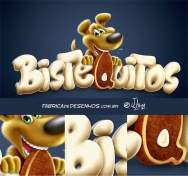 Logo para Ração Bistequitos