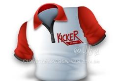 Ícone camisa Kicker