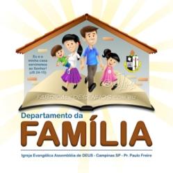 Logo Departamento da Família