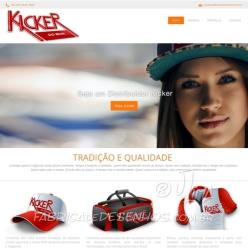 Novo site Kicker do Brasil