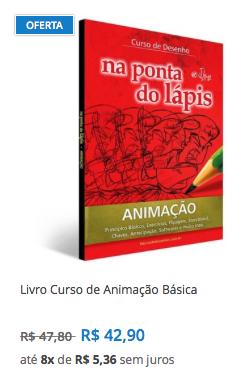 livro animacao frete gratis