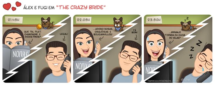 Charge para noivos