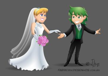 Mascotes noivos