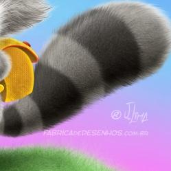 guaxinim mascote personagem desenho fofinho escola mochila aluno cartum raccoon raccoon mascot character design cuddly school backpack student cartoon by jlima 2