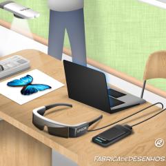 Epson 3D desenho cenario escola educação alunos palestra projetor impressora projeção design background drawing illustration scenery education school projector printer JLima 3