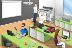 Laboratório, cliente: EPSON