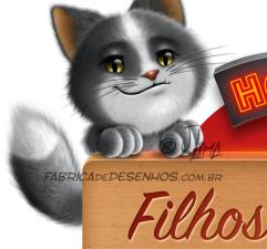 logo dubai gato cat dog cao cachorro mascote mascot design illustration cartoon hotel desenho j.lima 1