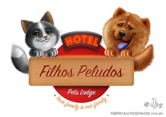 logo dubai gato cat dog cao cachorro mascote mascot design illustration cartoon hotel desenho j.lima