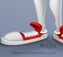 Mascote mascot design character personagem desenho futebol americano super bowl futball jogador player j. lima 5