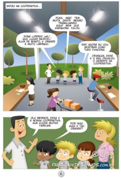 gibi hq quadrinhos manual coleta seletiva ecologia prefeitura governo manuel ribas jlima 3