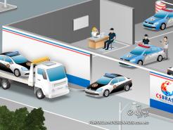 JSL Julio Simoes CS Brasil desenho 3d mapa logistico ilustracao vetor concept art jlima log logistica transporte policia frota rio janeiro 2