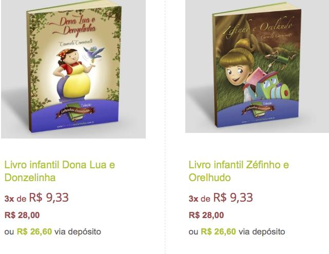 livro infantil Carmela Carminatti zefinho orelhudo dona lua donzelinha jlima independente letrinhas encantadas colecao selo livro frete gratis b