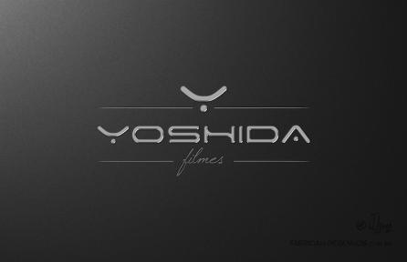 Branding Logo Yoshida filmes logo 3d design marca criacao jlima