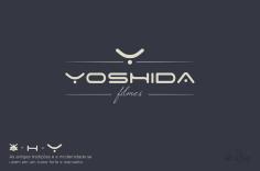 Branding Logo Yoshida filmes logo design marca criacao jlima