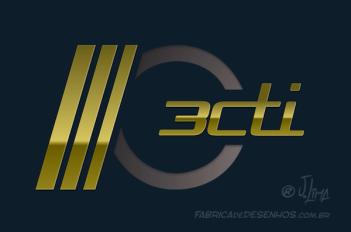 logo-branding-3cti-arte-esboco-croqui-sketch-design-craicao-jlima-desenho-logotipo-logomarca-3d-pintura-digital-dourado-gold-modern-moderno-hytec-metal-darck-escuro