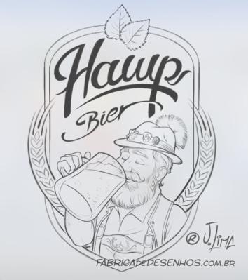 hawp-bier-rotulo-cerveja-bebida-artesanal-alemao-chops-caneca-mascote-personagem-embalagem-design-mascot-character-jlima-desenho-ilustracao-illustration-sketch-croqui-esboco-1