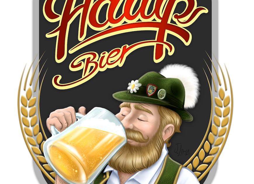 hawp-bier-rotulo-cerveja-bebida-artesanal-alemao-chops-caneca-mascote-personagem-embalagem-design-mascot-character-jlima-desenho-ilustracao-illustration