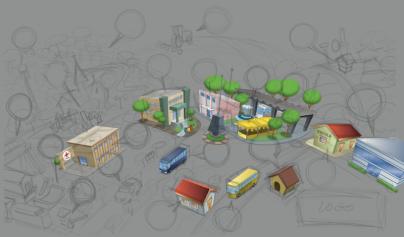 mapa-jandaia-do-sul-3d-vetor-aereo-map-logistica-campanha-desenho-cidade-bairros-jlima-muriel-esboco-sketch-croqui