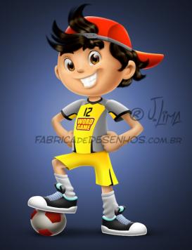 menino futsal futebol soccer boy face rosto mascote mascot design personagem character jlima desenho art concept ilustration ilustracao corpo body