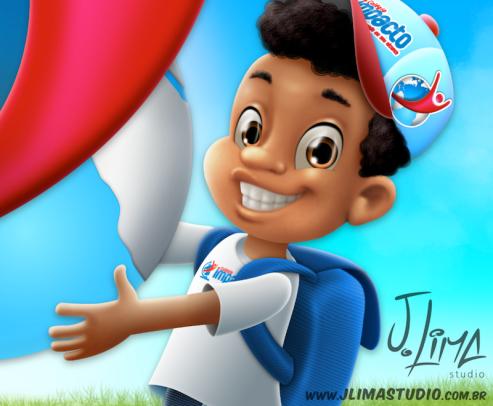school escola alunos aluno menino crianças mochila uniforme logo impacto jlima sketch esboço boy kids mascote personagem character mascot design desenho ilustraçao
