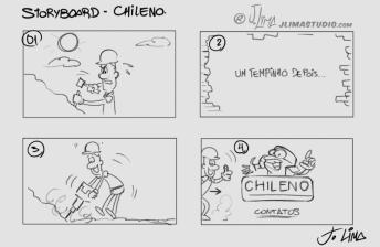 chileno peças desenho jlima anima personagem character design mascot animation animacao pedreiro obra construcao storyboard esboço croqui sketch