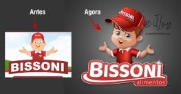 logo mascote bissoni design logotipo personagem menino character concept art bone chapeu boy garoto salgadinhos empresa biscoitos alimentos institucional corporativo empresarial comercia