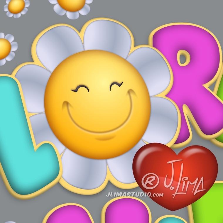 borboleta logo design logotipo mascote personagem flor vida flores jlima desenho ilustração arte art 3d vetor pintura digital concept conceito sorriso coração