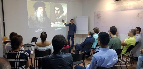 palestra e exposição j. lima como viver da arte na ahead 2