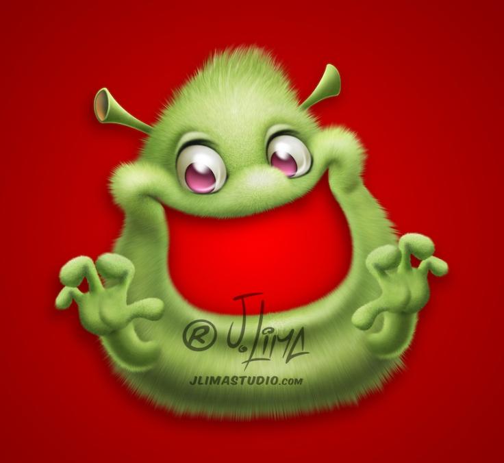 Miliopa mascotes personagens monstros monster monstrinhos fofinhos fofos mascote mascot design character jlima desenho 3d pintura digital photoshop pixelmator sketchbook conceptart cartum catoon salgadinho embalagem publicidade promocional verde jlima